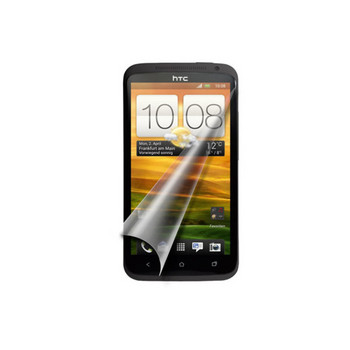HTC One X Displayschutzfolie-2er Set + Tuch, verp.
